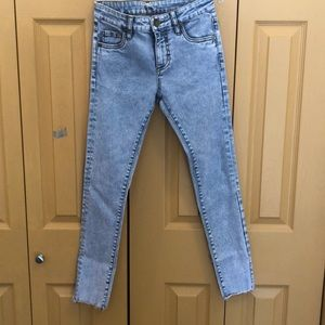 Kut from the Kloth Acid Wash Jeans